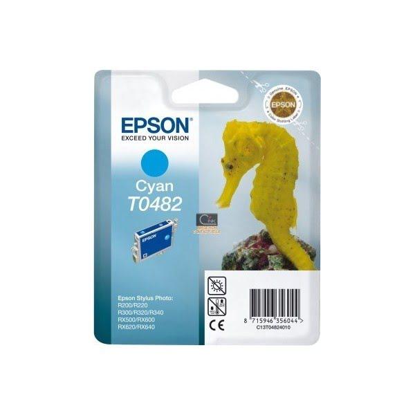 Epson Cartouche T0482 Stylus Photo R200/300 Cyan (C13T048240) - Achat / Vente Consommable Imprimante sur Cybertek.fr - 0