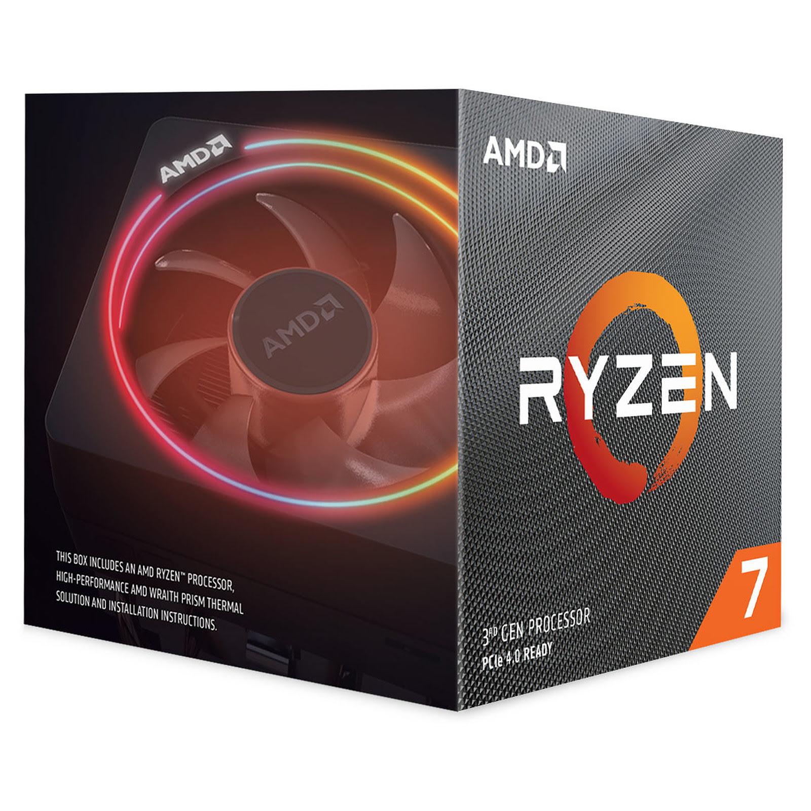 AMD Ryzen 7 3800X - 4.5GHz - Processeur AMD - Cybertek.fr - 2