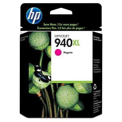 Cartouche 940XL Magenta - C4908AE pour imprimante Jet d'encre HP - 0