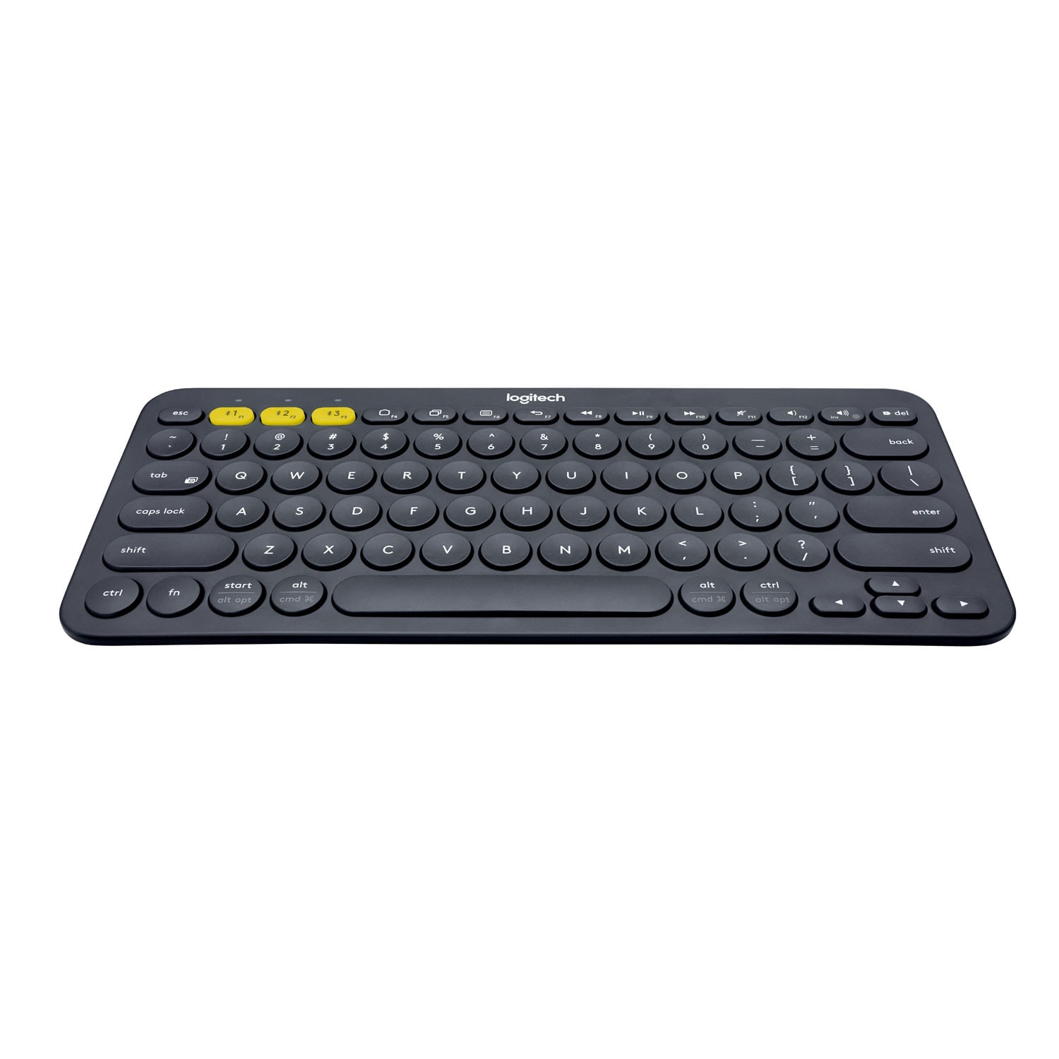 Logitech K380 Multi-Device Bluetooth Keyboard Noir - Clavier PC - 0