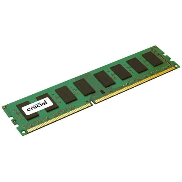 Barrette de ram PC Crucial 4Go  DDR3 - 0