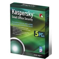 Kaspersky Logiciel sécurité Small Office Security - 1 Serveur+5 Postes 1 An Cybertek