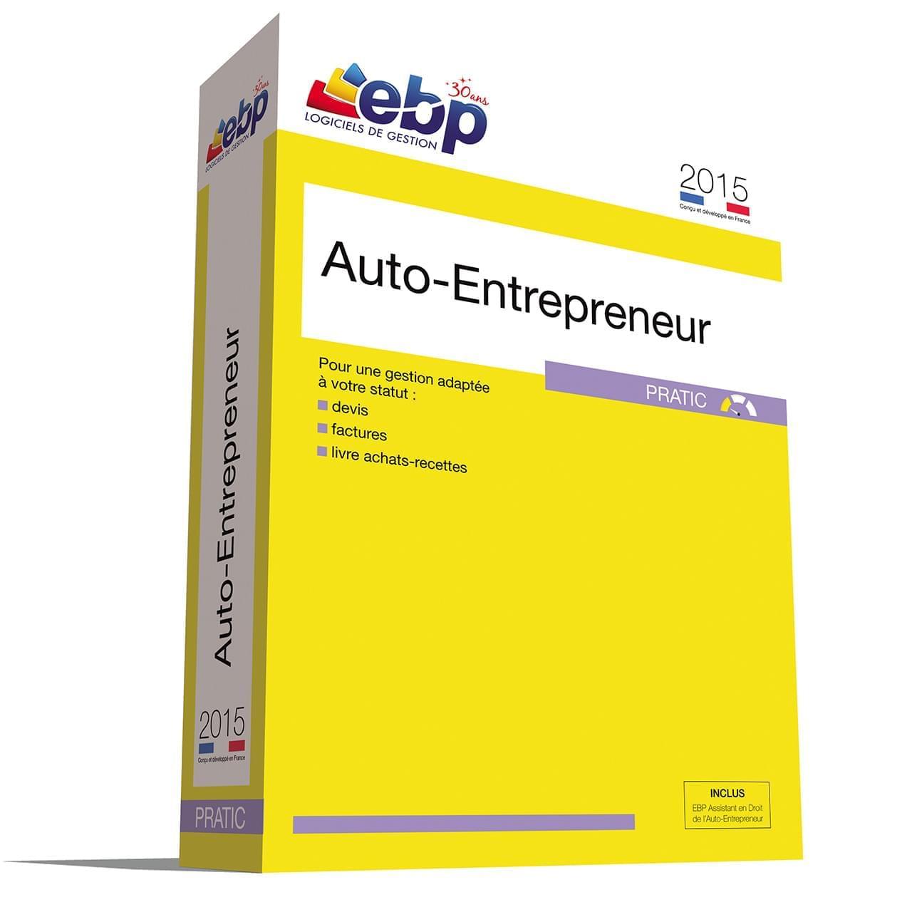 EBP Auto-Entrepreneur Pratic 2015 - Logiciel application - 0