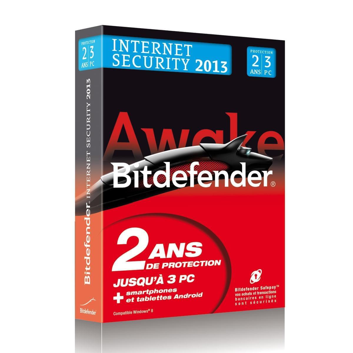 Bitdefender Internet Security 2013 (B-FBDIS-3W2P003) - Achat / Vente Logiciel sécurité sur Cybertek.fr - 0