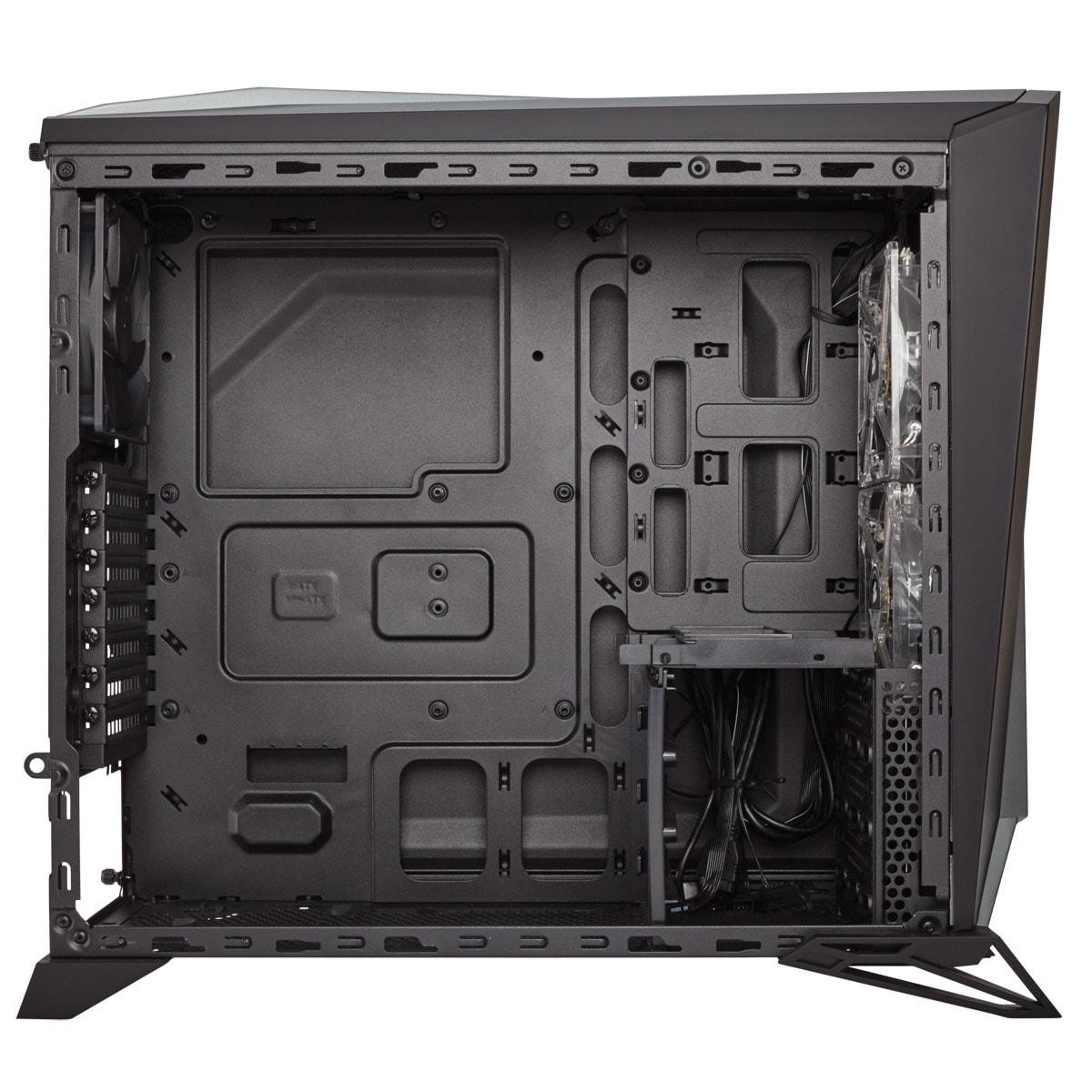 Corsair Spec-Alpha Black/Silver - Boîtier PC Acier - Sans Alim - 1