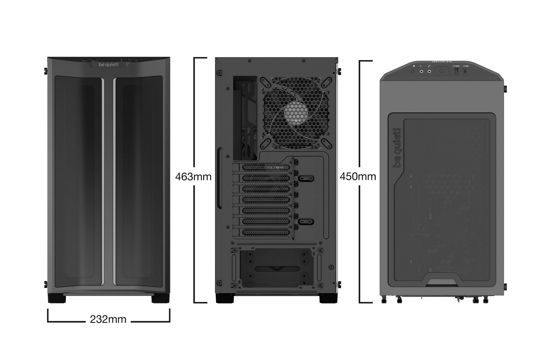 Be Quiet! Pure Base 500DX Black BGW37 Noir - Boîtier PC Be Quiet! - 5