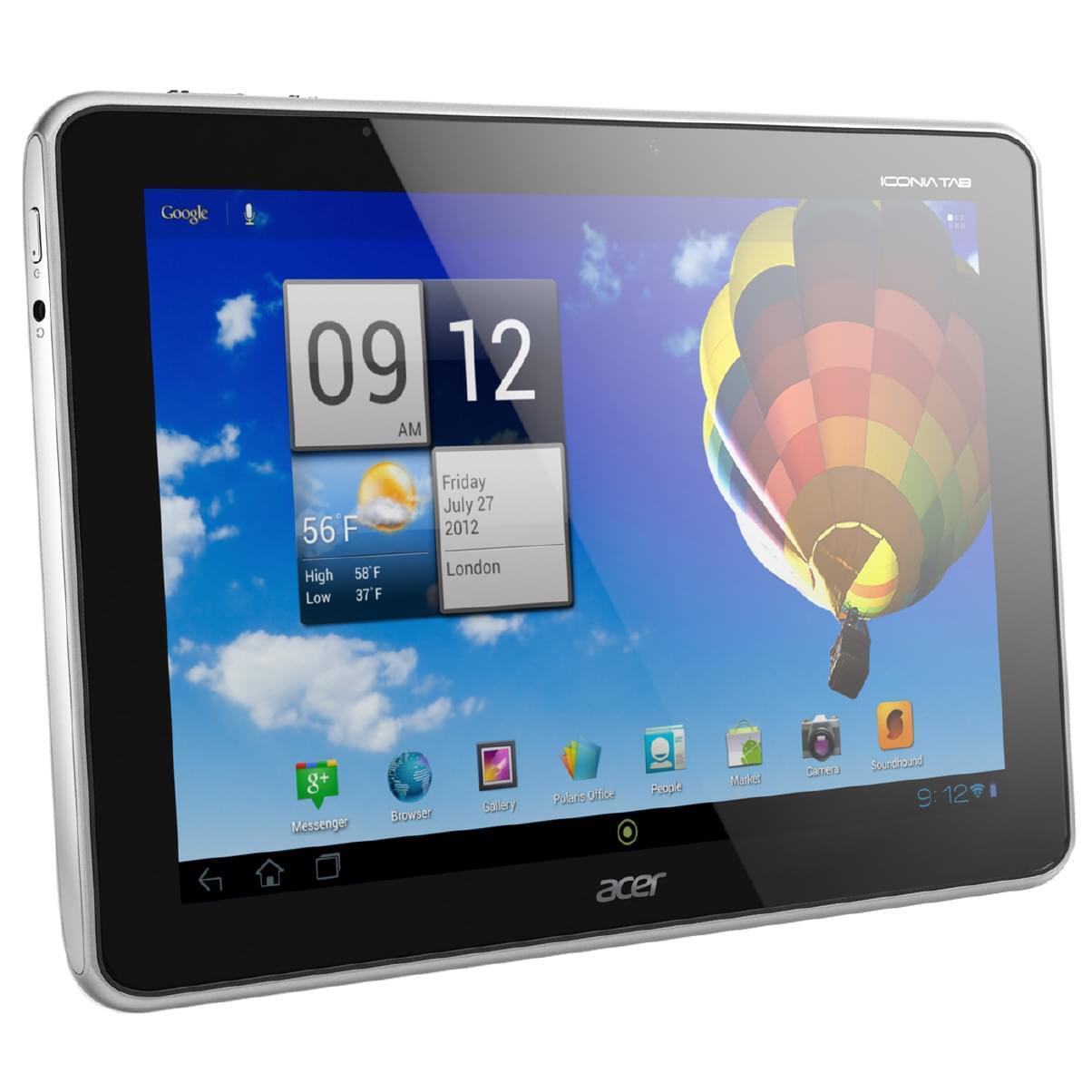 Acer A700 32Go Argent (HT.HA0EF.002) - Achat / Vente Tablette Tactile sur Cybertek.fr - 0