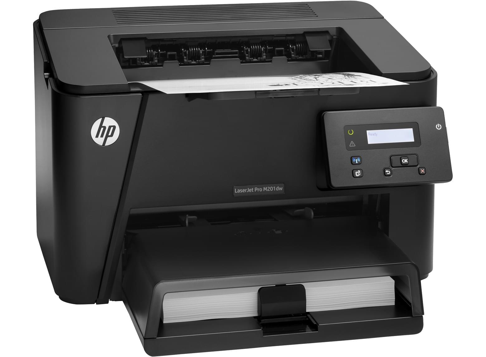 Imprimante HP LaserJet Pro M201dw - Cybertek.fr - 0