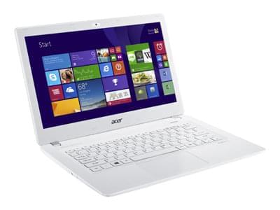 Acer V3-371-32H6 Blanc (NX.MPFEF.107) - Achat / Vente PC Portable sur Cybertek.fr - 0