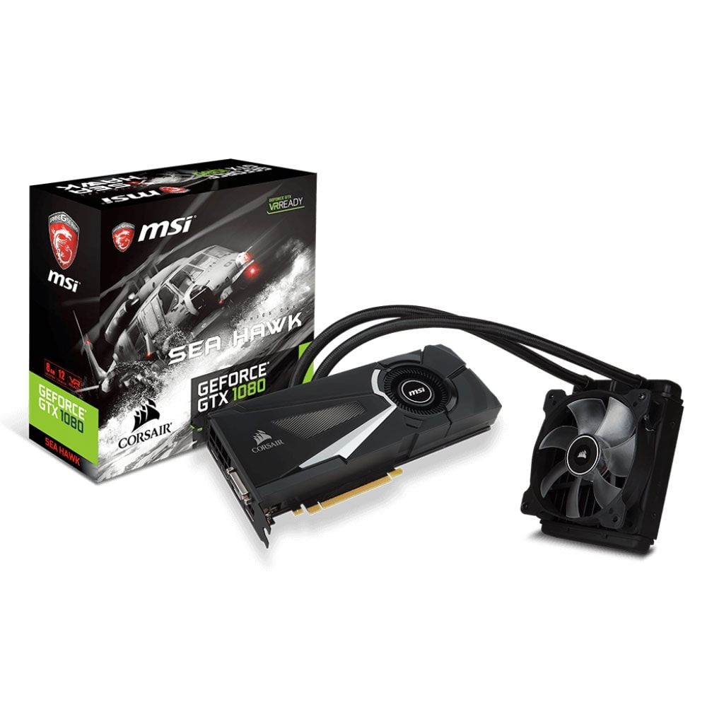 MSI GTX 1080 SEA HAWK X 8Go - Carte graphique MSI - Cybertek.fr - 0