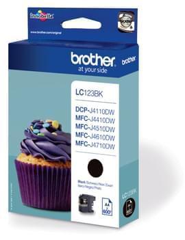 Brother Cartouche LC123BK Noir (LC123BK) - Achat / Vente Consommable imprimante sur Cybertek.fr - 0