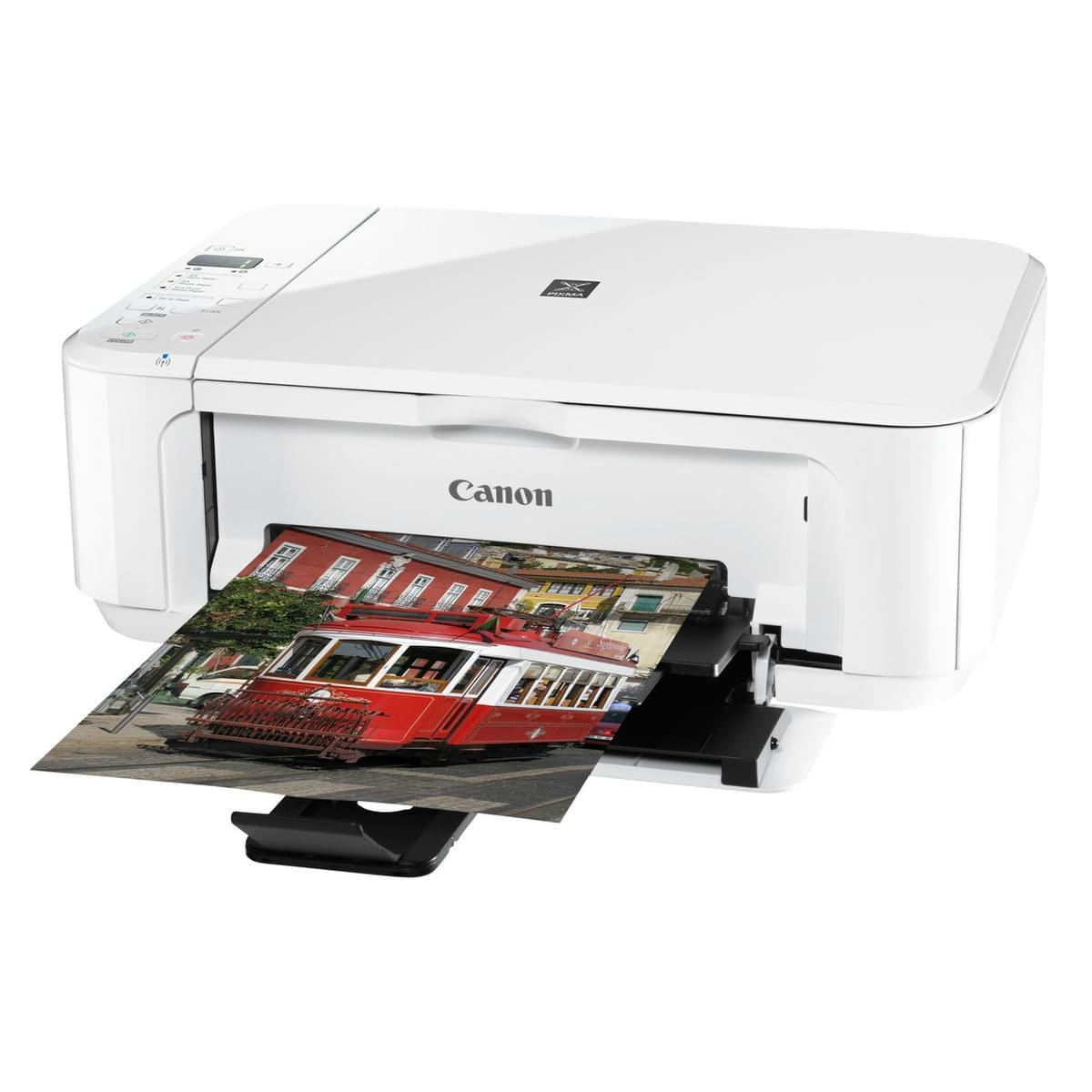 Canon PIXMA MG3150 Blanche (Recto-Verso / WiFi) (5289B050) - Achat / Vente Imprimante Multifonction sur Cybertek.fr - 0