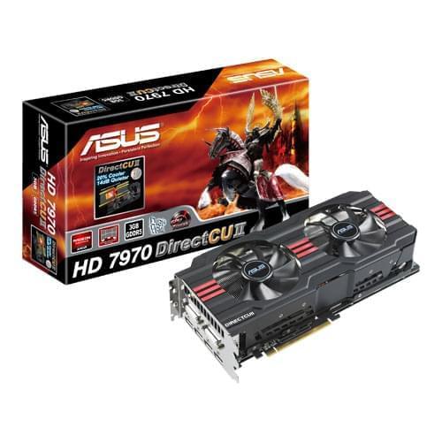 Asus HD7970-DC2-3GD5 3Go - Carte graphique Asus - Cybertek.fr - 0