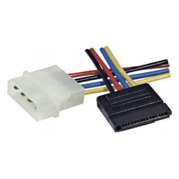 Câble Alimentation Molex vers SATA - Connectique PC - Cybertek.fr - 0
