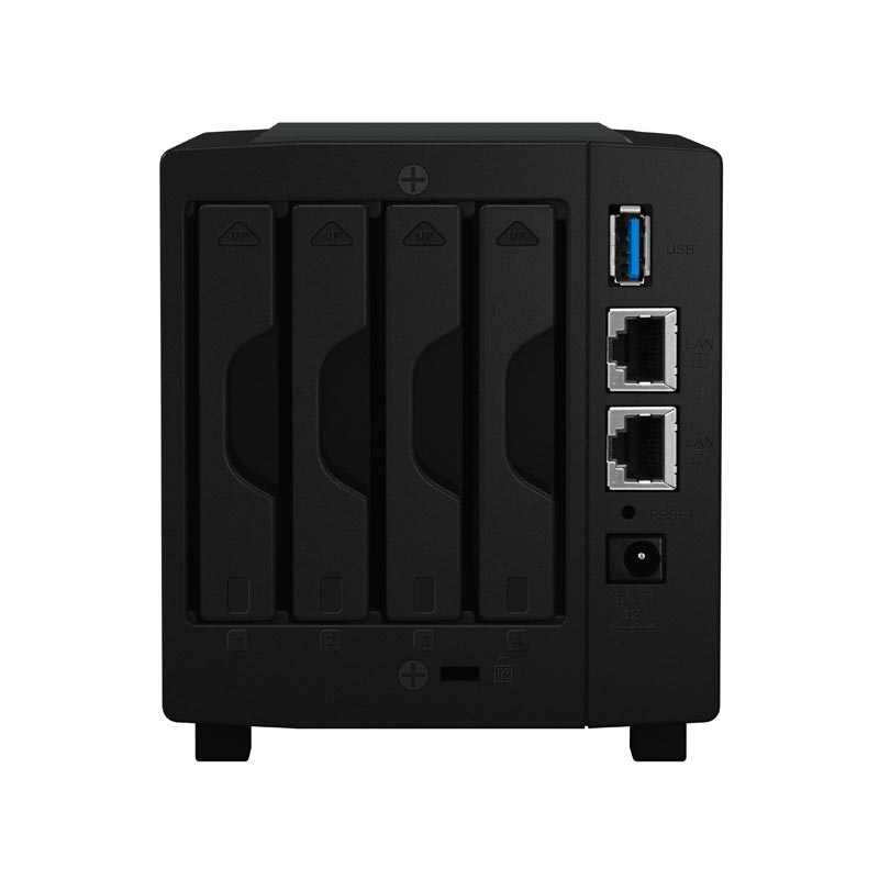 Synology DS416Slim - 4 HDD - Serveur NAS Synology - Cybertek.fr - 1