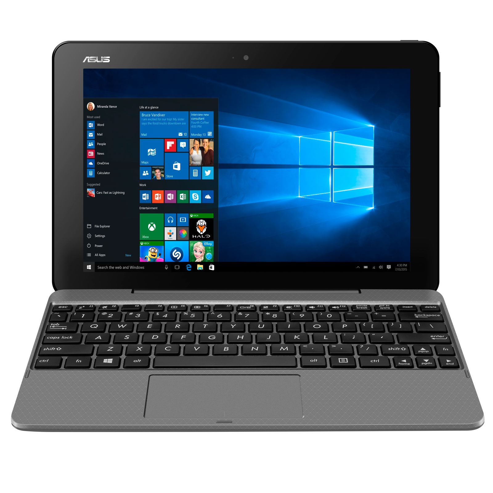 Asus T101HA-GR029RB - PC portable Asus - Cybertek.fr - 4