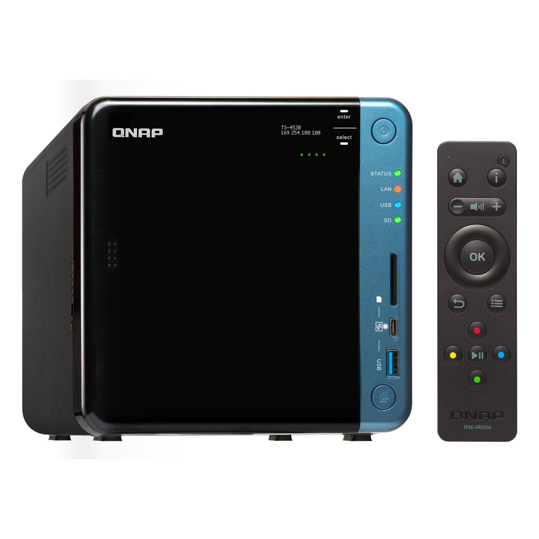 Qnap TS-453B-8G - 4 HDD - Serveur NAS Qnap - Cybertek.fr - 4