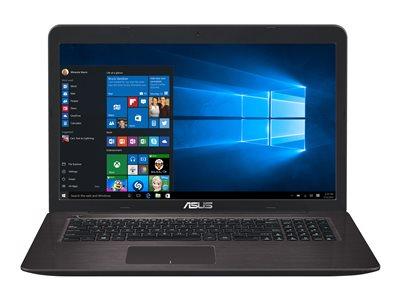 Asus X756UQ-TY027T Marr. (90NB0C31-M00290) - Achat / Vente PC portable sur Cybertek.fr - 0