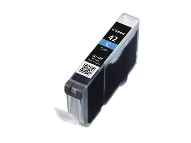 Canon Cartouche CLI-42 C Cyan (6385B001) - Achat / Vente Consommable Imprimante sur Cybertek.fr - 0