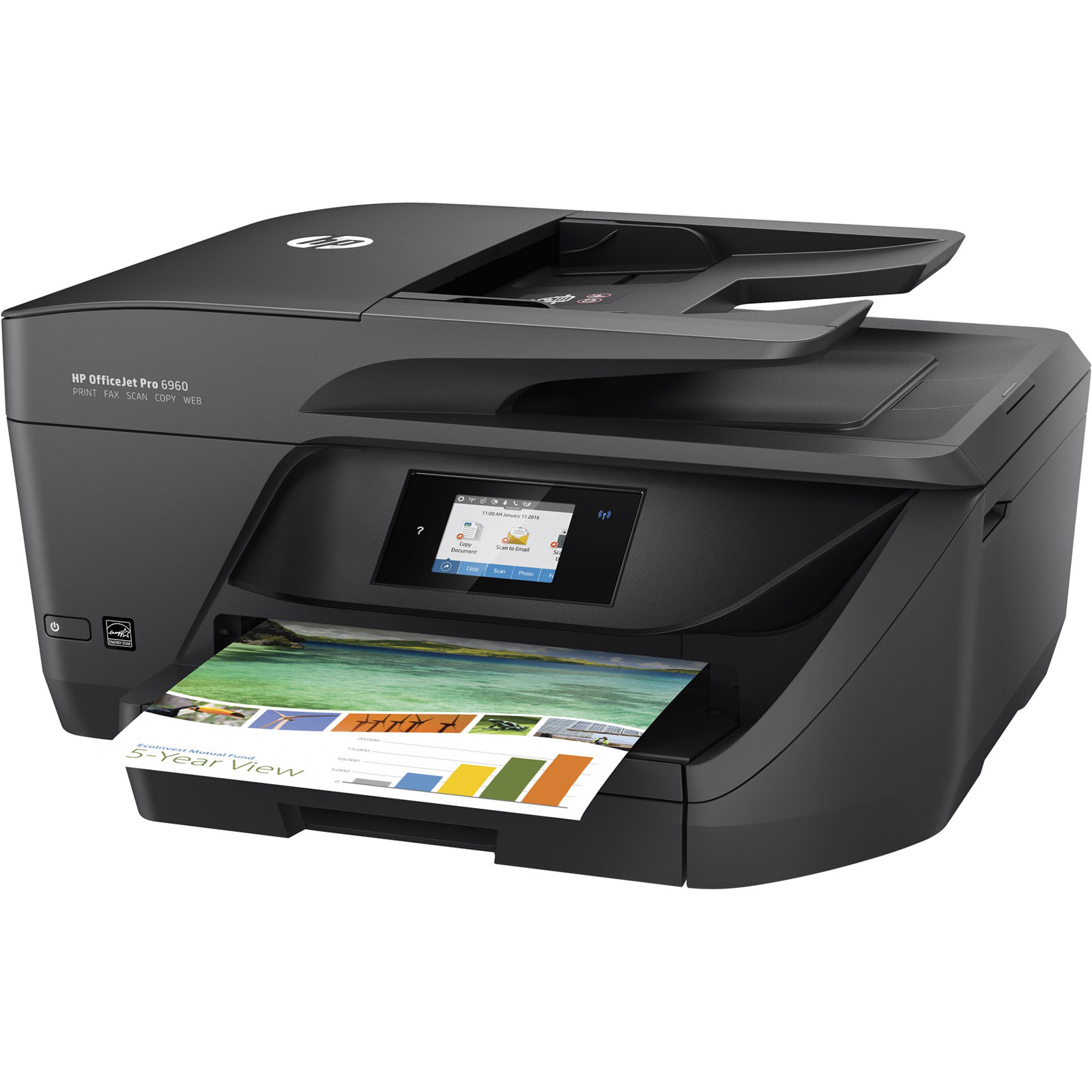 Imprimante multifonction HP OfficeJet PRO 6960 All-in-one - 1