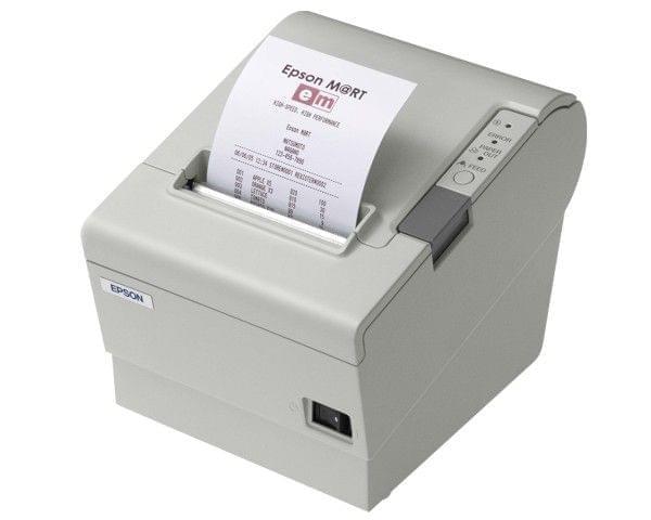 Imprimante Epson TM-T88V Blanc - Cybertek.fr - 0