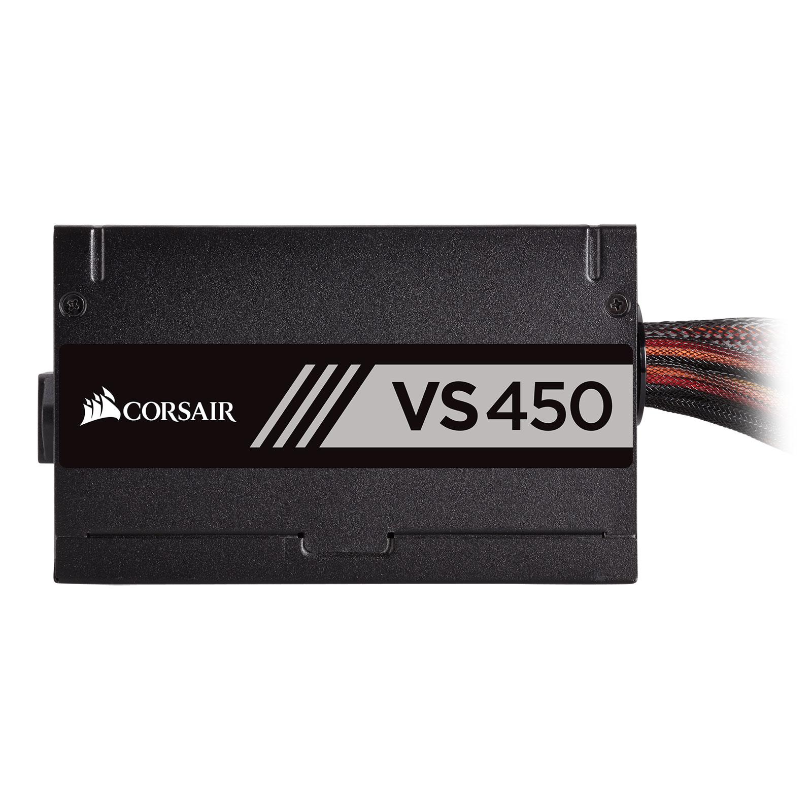 Corsair VS450 80+ (450W) - Alimentation Corsair - Cybertek.fr - 3