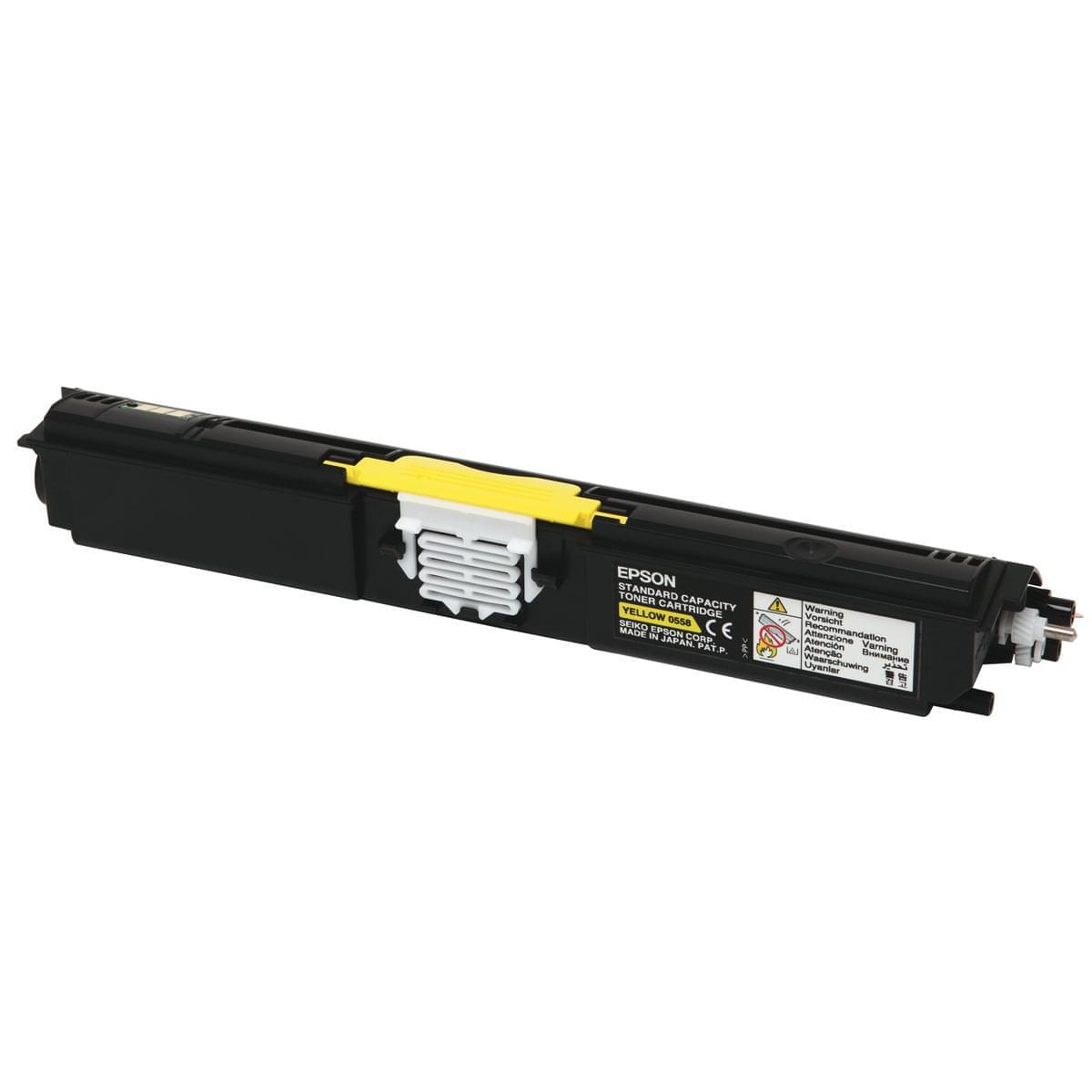 Epson Toner Jaune 1600p (C13S050558) - Achat / Vente Consommable imprimante sur Cybertek.fr - 0