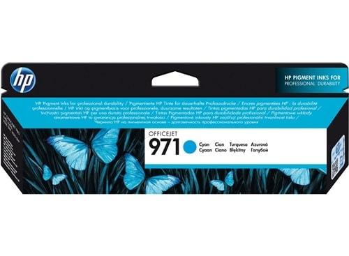 Cartouche d'encre Cyan HP 971 - CN622AE pour imprimante Jet d'encre HP - 0