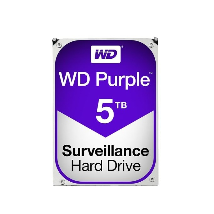 "WD WD50PURX 5To 7200 Tr/min - Disque dur interne 3.5"" - 1"