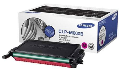 Samsung Toner CLP-M660B Magenta (CLP-M660B) - Achat / Vente Consommable imprimante sur Cybertek.fr - 0