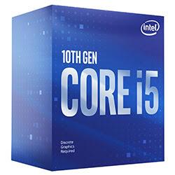image produit Intel Core i5-10400F - 2.9GHz/12Mo/LGA1200/BOX Cybertek