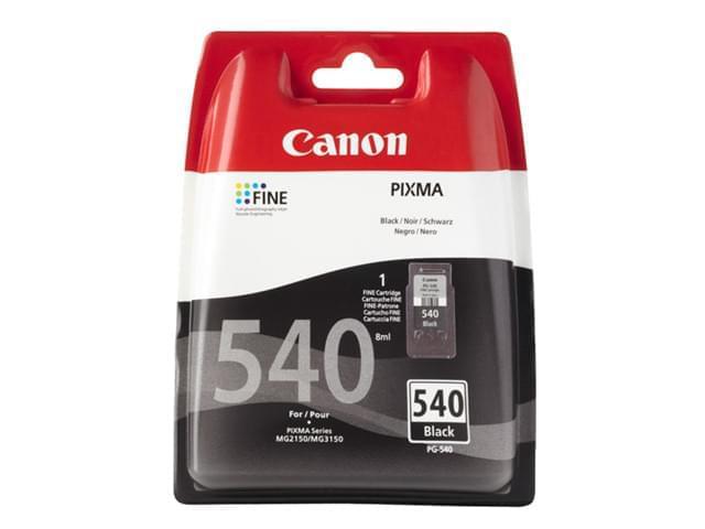 Canon Cartouche PG-540 Noire (5225B005 / 5225B004) - Achat / Vente Consommable Imprimante sur Cybertek.fr - 0