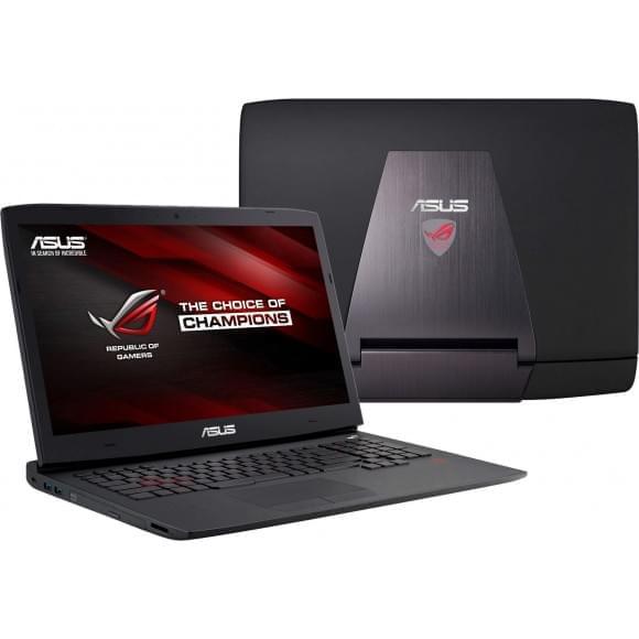 "Asus G751JY-T7052H -i7-4710/16Go/256G+1T/GTX980/17.3""/8 (G751JY-T7052H) - Achat / Vente PC Portable sur Cybertek.fr - 0"