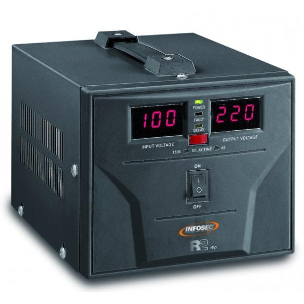 Régulateur de tension R2 PRO 1000VA - Onduleur Infosec - 0