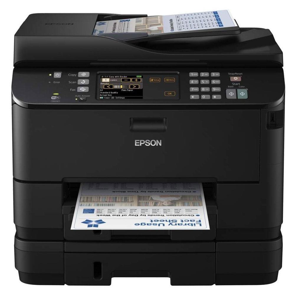 Epson WorkForce PRO WP-4545DTWF (C11CB32301) - Achat / Vente Imprimante multifonction sur Cybertek.fr - 0