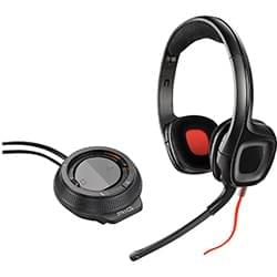 Plantronics Micro-casque Gamecom D60 + Mixer Cybertek