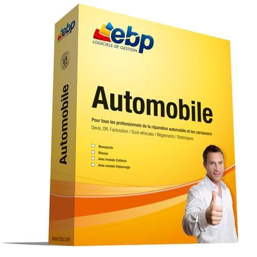 EBP Automobile - Achat / Vente Logiciel Application sur Cybertek.fr - 0