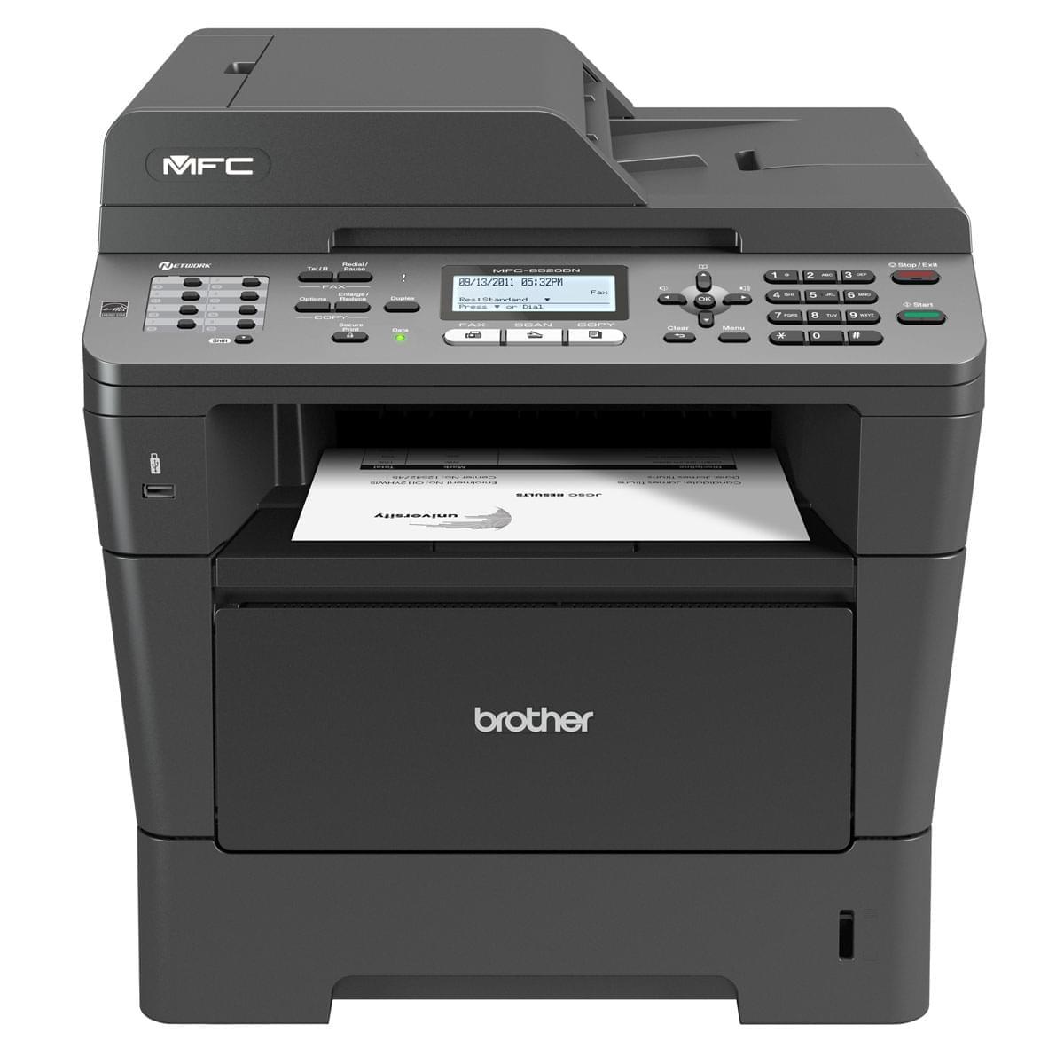 Brother MFC-8520DN + Garantie 3 ans (MFC8520DNRF1) - Achat / Vente Imprimante Multifonction sur Cybertek.fr - 0