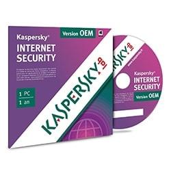 Kaspersky Internet Security 2016 OEM - 1 An / 1 PC (KL1867FBAFS-FFP 5060037893230) - Achat / Vente Logiciel sécurité sur Cybertek.fr - 0