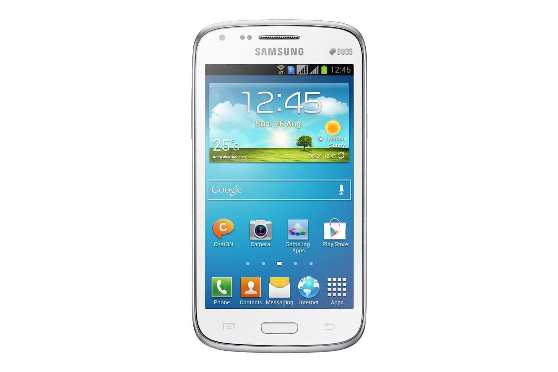 Samsung Galaxy Core Dual SIM Chic White i8262 (GT-I8262CWAXEF) - Achat / Vente Téléphonie sur Cybertek.fr - 0