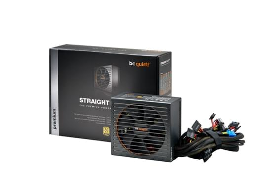 Alimentation PC Be Quiet! ATX 500W Straight Power E9-500W 80+ GOLD BN192 - 0