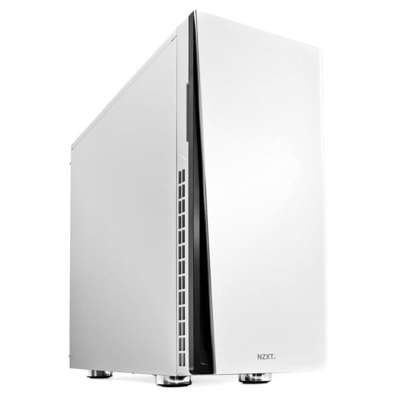 NZXT H230 Blanc - Boîtier PC Acier - Sans Alim - 0