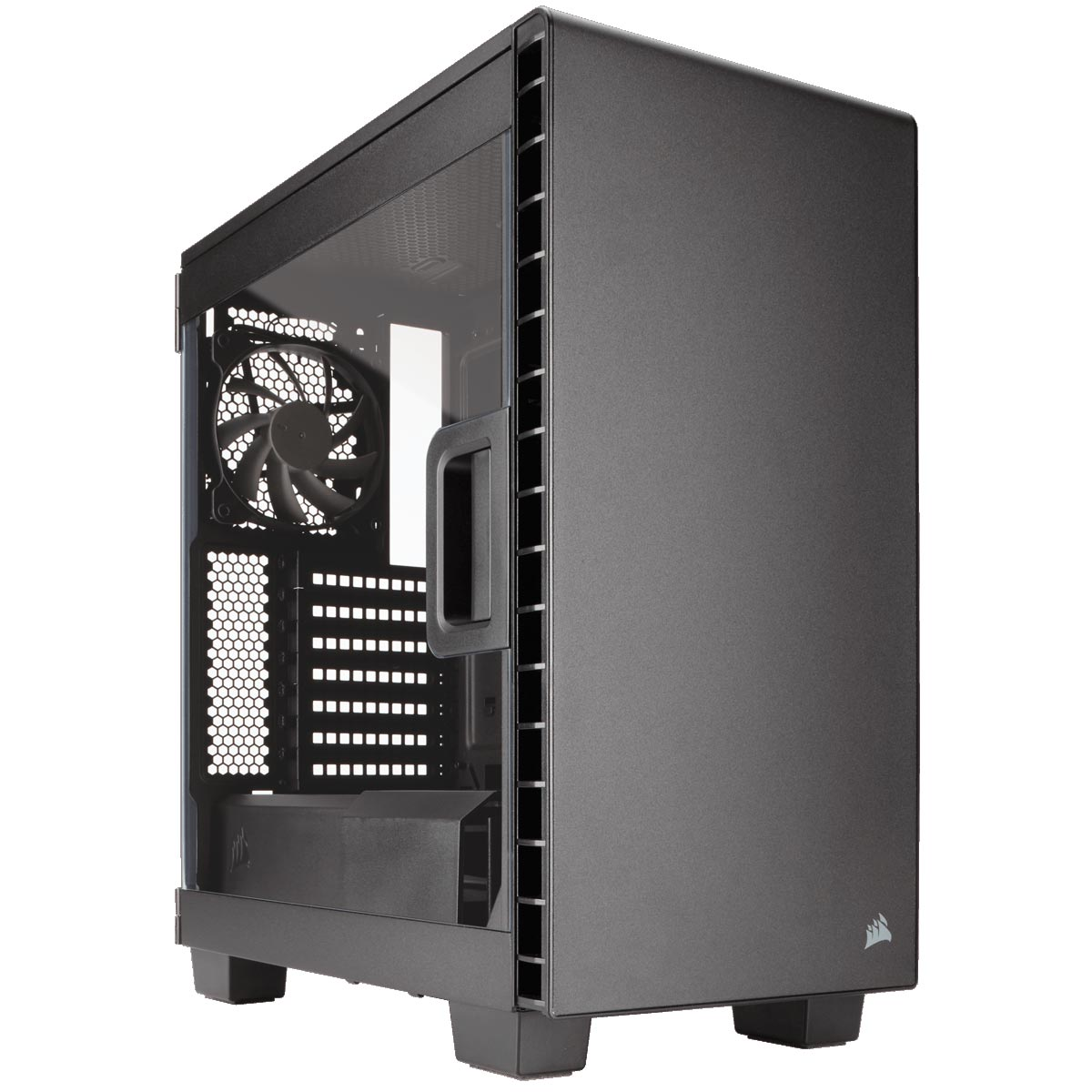 Corsair Carbide Clear 400C CC-9011081-WW -MT/Ss Alim/ATX Noir - Boîtier PC - 0