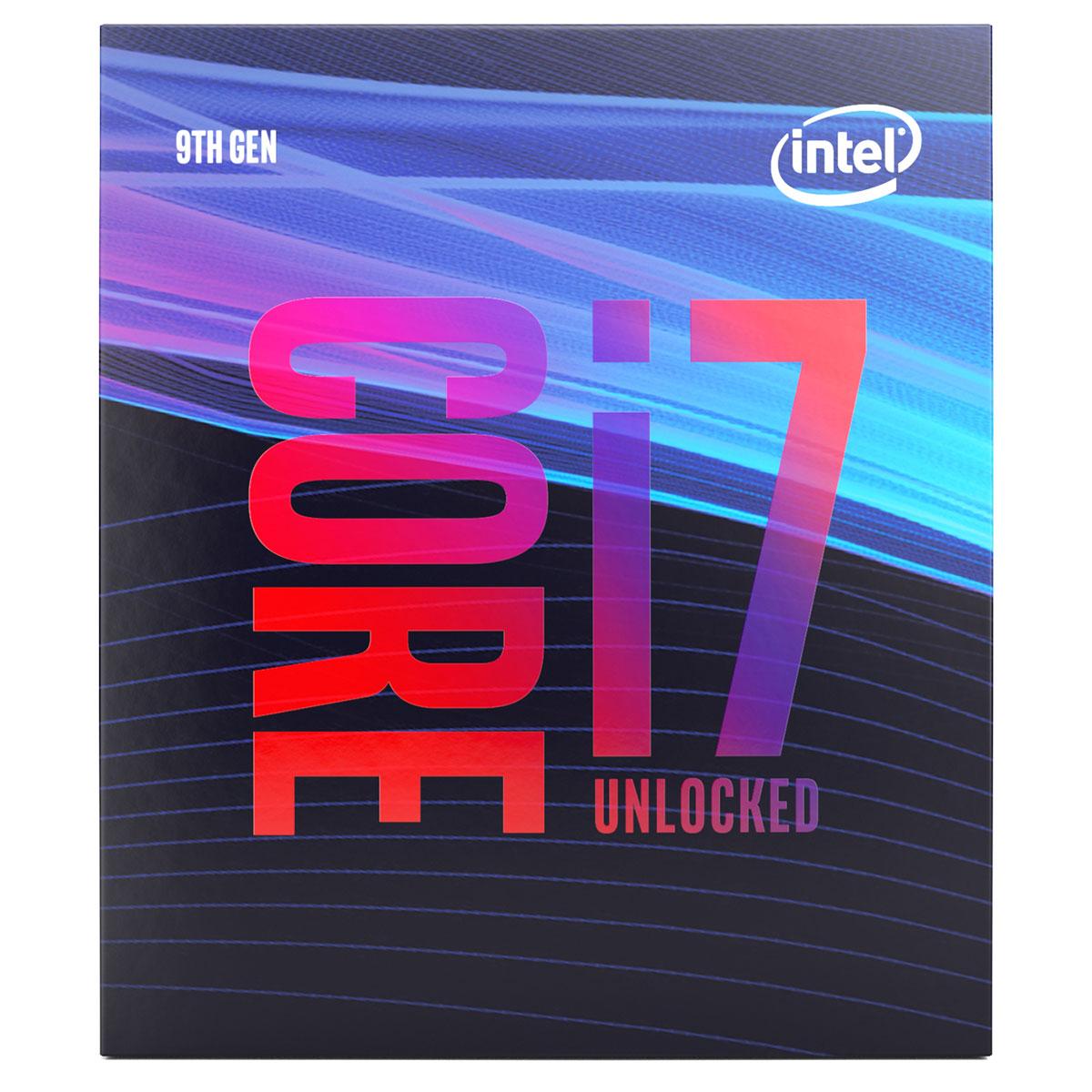 Intel Core i7-9700K - 3.6GHz - Processeur Intel - Cybertek.fr - 2