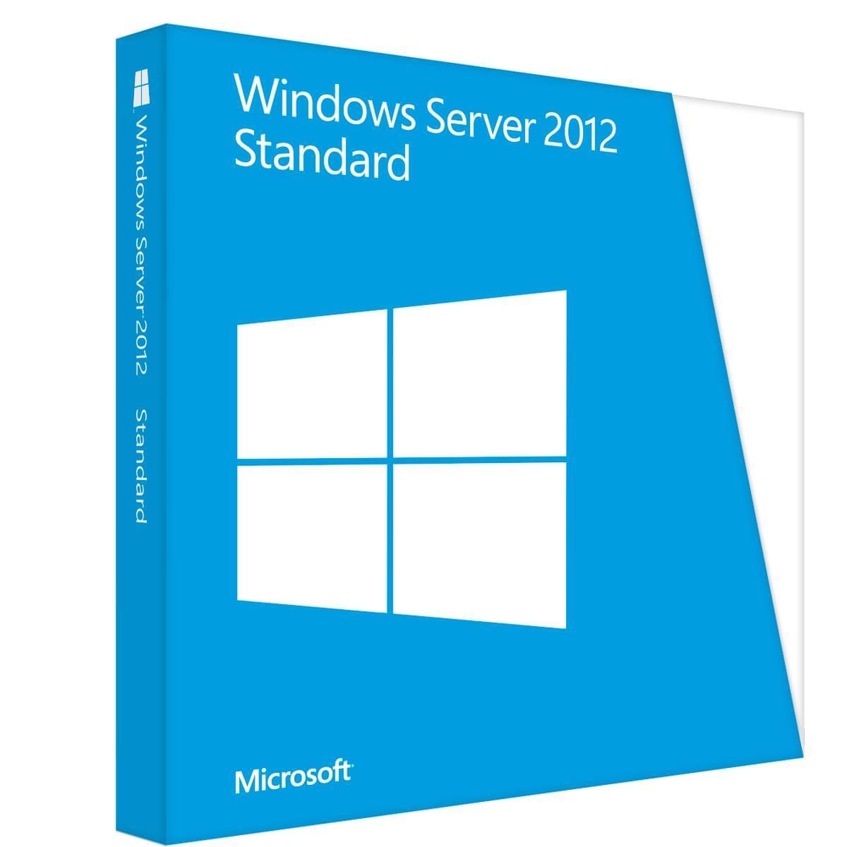 Microsoft Windows Server 2012 Standard COEM (P73-06166) - Achat / Vente Logiciel système exploitation sur Cybertek.fr - 0