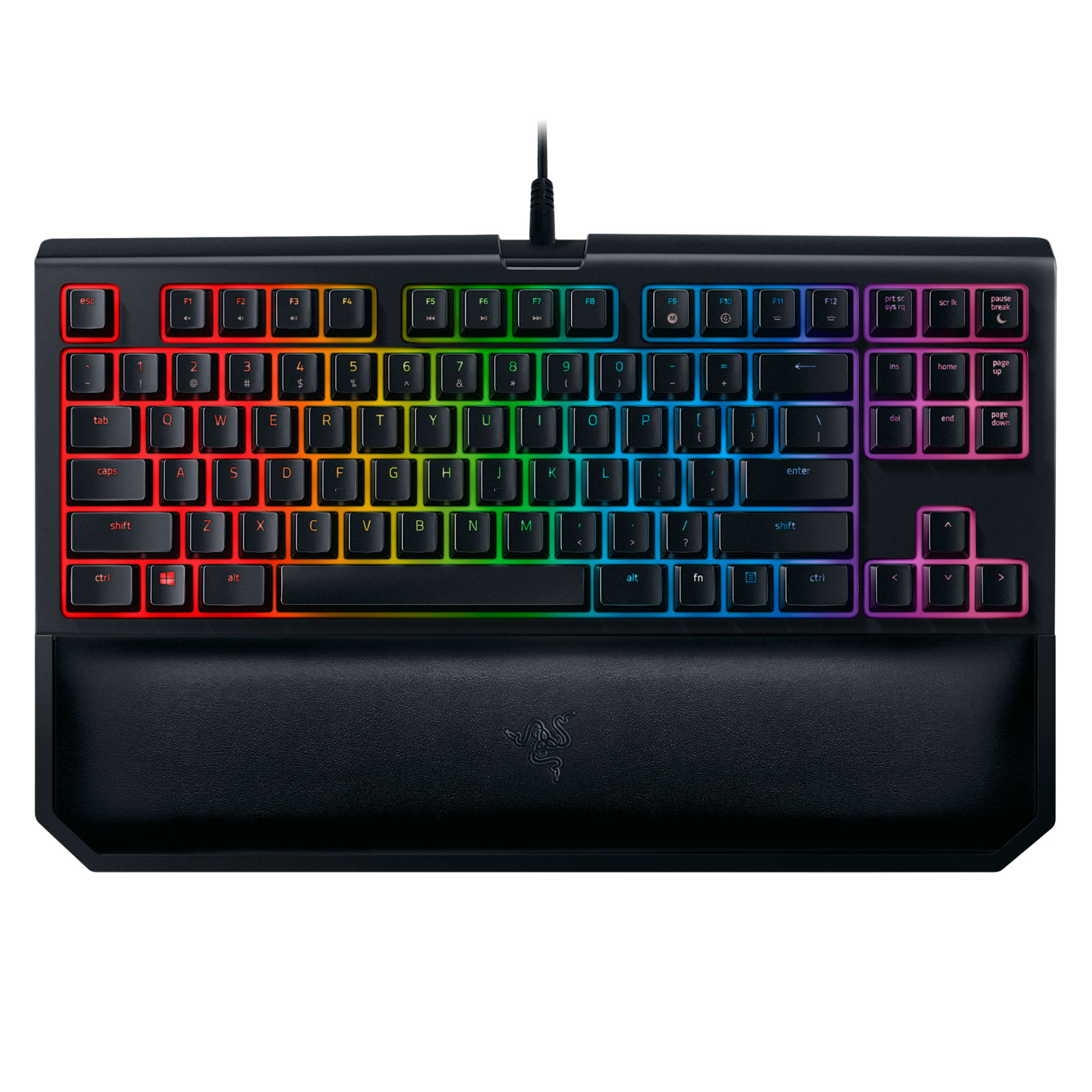 Razer BlackWidow Tournament Edition Chroma V2 Green sw. - Clavier PC - 1