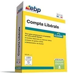 Cybertek Logiciel application EBP Compta Libérale Classic OL 2016 + ODR 30 €