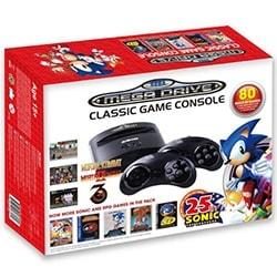 Sega Console de jeux Mega Drive + 80 Jeux Edition 2016 Cybertek