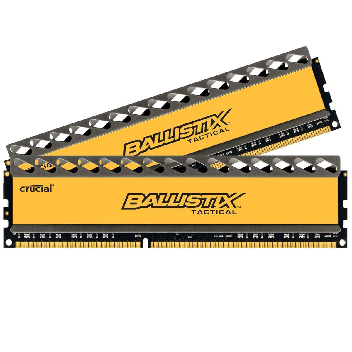 Ballistix BLT2CP4G3D1869DT1TX0CEU  8Go DDR3 1866MHz - Mémoire PC - 0