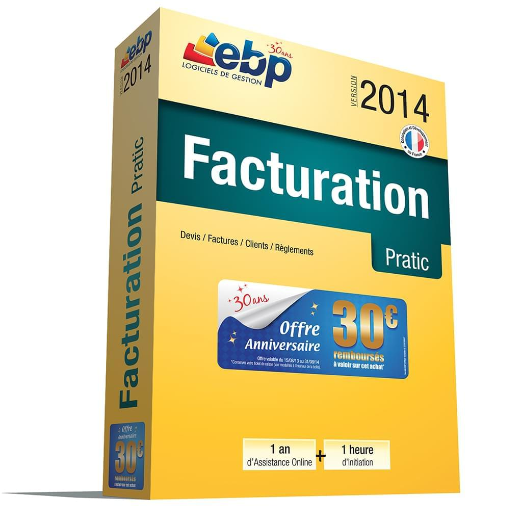 EBP Facturation Pratic 2014 + Services VIP - Logiciel application - 0